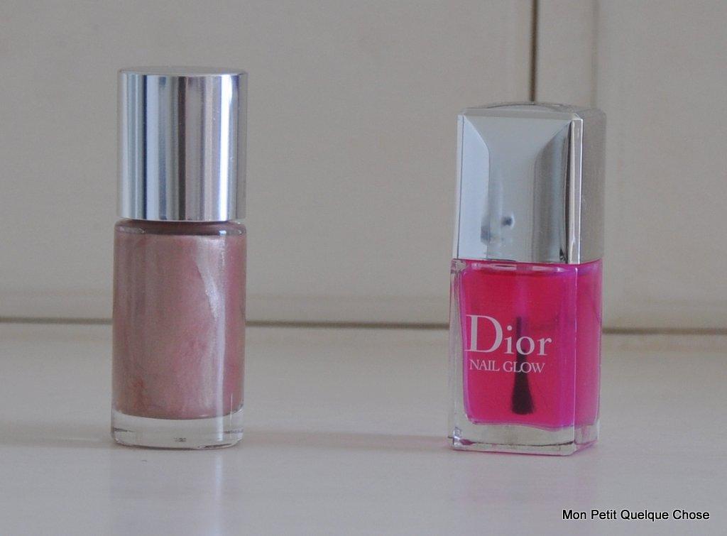 Dior - Nail Glow et Clinique - 03 Fizzy