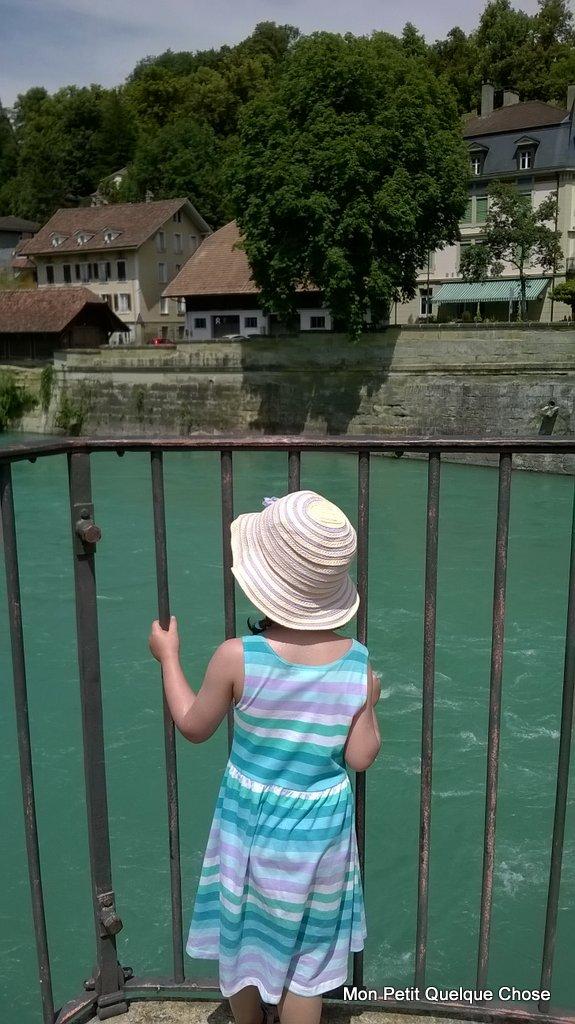 Sortie familiale à Berne, le pont de Nydegg