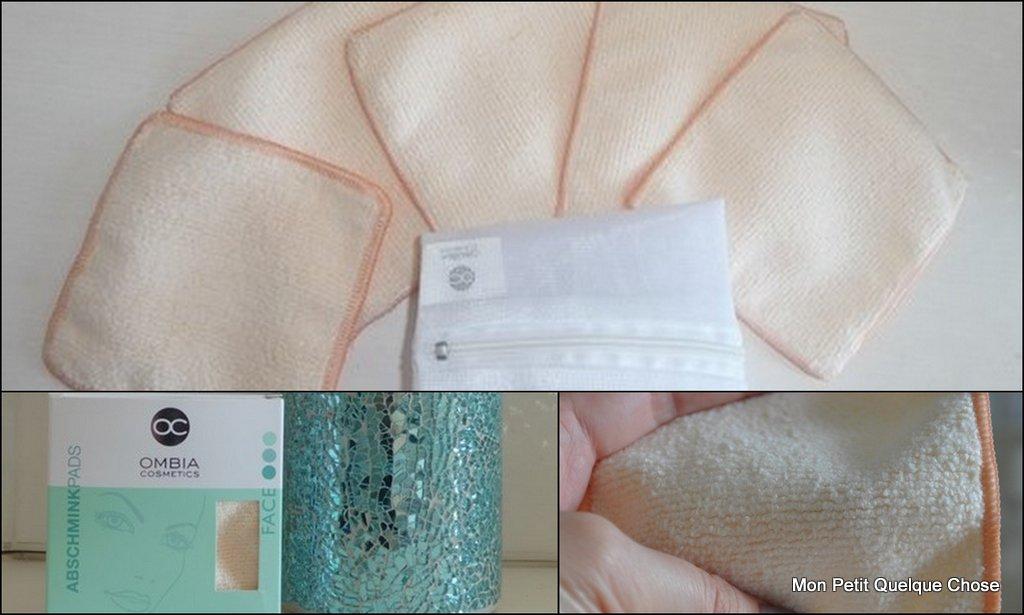 Lingettes nettoyantes d'Ombia cosmétics